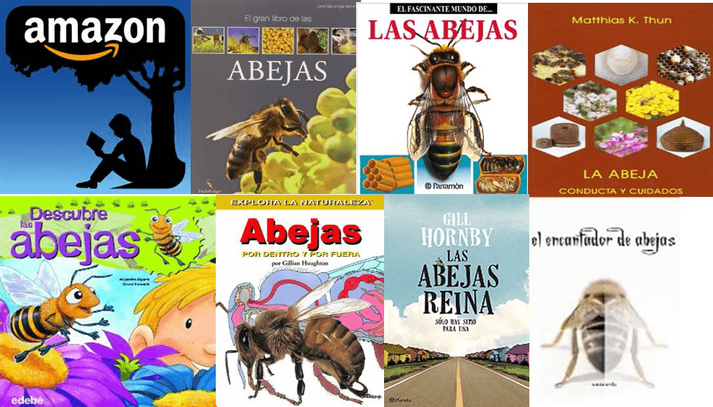 Some bee books in Amazon.com. Amazon.com, a hive selling us almost anything