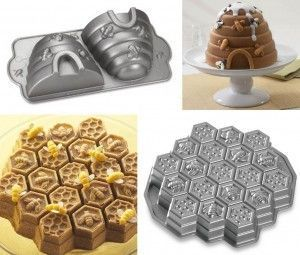 Pastry molds for bee lovers