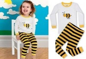 Bee pajamas for children