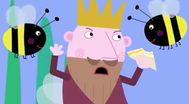 The king of Ben and Holly